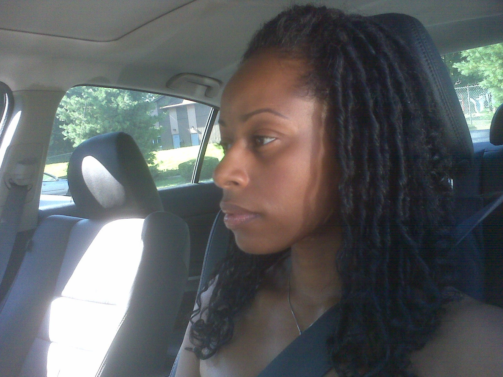 Senegalese twists twist out two in one