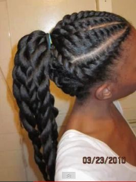 Blow-Out and Flat-Twist Bun hairscapades