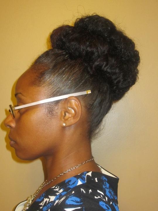 Banana Clip Hairstyles Natural Hair Hairstyles for medium length