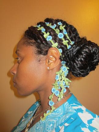 Natural Hair Bunning Regimen