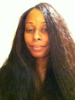 pressed hair
