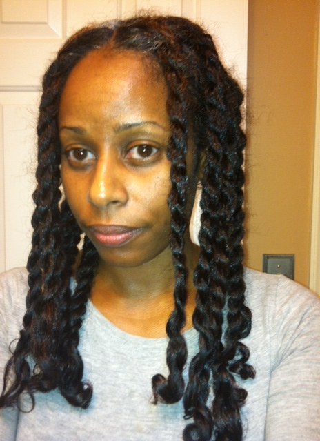 Dry Tnc With Small Perm Rods Hairscapades