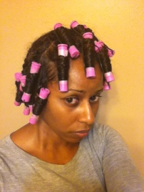 """All set and concerned ... """"Please don't let me look like Soul Glo!!!"""""""