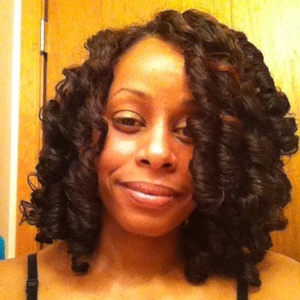 Small Perm Rods On Short Natural Hair