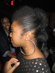 She did Toia B's Twisted Frohawk w/Pompadour that was featured on CurlyNikki a little while ago!
