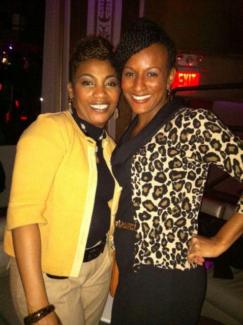 Sharon and my sis.