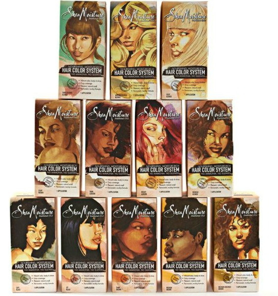 Shea Moisture Hair Color System Takers Hairscapades