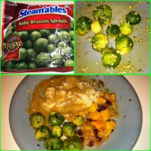 I ate BRUSSEL SPROUTS!! Check out my FB page or IG to see why this is HUGE!!