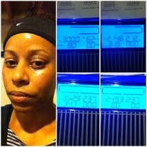 Day 26: C25K Week 3/Day 3 - Two 1.5 min run intervals at 6.0, two 3 min run intervals at 5.5 w/last min of second interval at 5.7. Then walked at progressive inclines from 20-30 min (2 min @ 0, 2, 4, 6, 8).