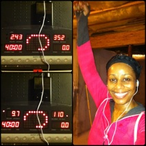 Day 28: Treadmill walk at 3.8 w/progressive incline every 5 min (0, 2, 4, 6, 8, 10).