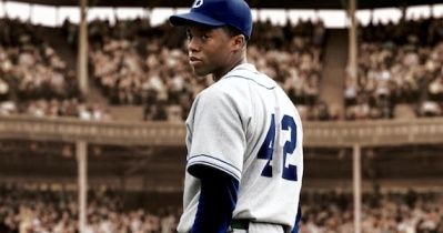 42-Movie-Chadwick-Boseman looking back