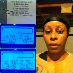 Day 36: C25K Week 5/Day 1 (5.2 and 5.5 mph runs). Despite an allergy attack that caused some serious congestion, got it done.