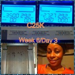 Day 46: Abs of Steel (10 min); Day 47: C25K c25k Week 6/Day 3 - 25 min. run at 5.2 mph!