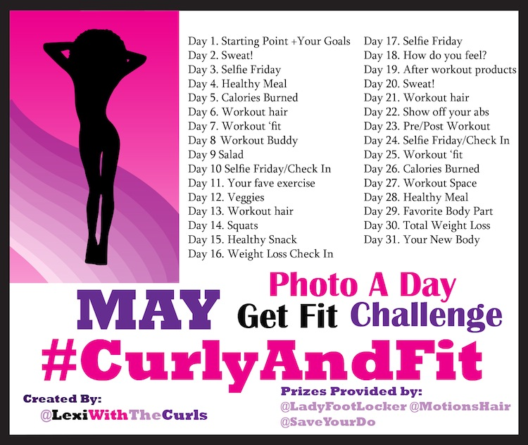 28 Day Fitness Challenge | hairscapades