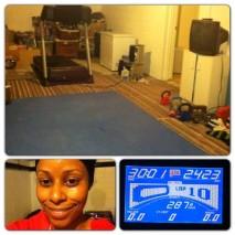 Day 99: HIIT treadmill