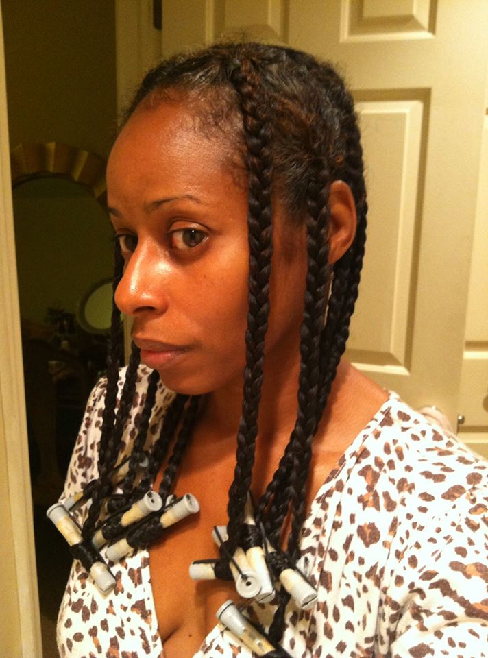 Aloe Vera Gel Braid Out Hairscapades