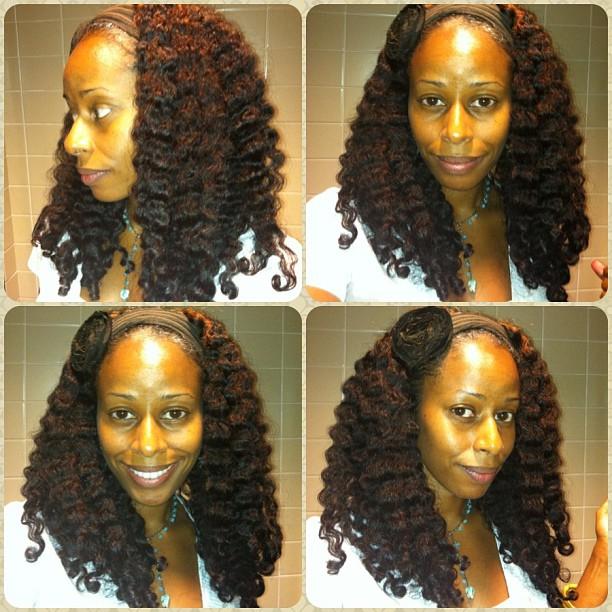 Aloe Vera Gel Braid-Out | hairscapades