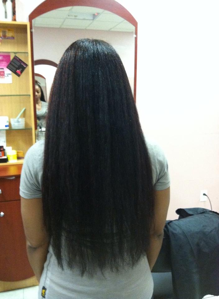 Biosilk On Natural Black Hair