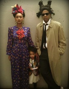 jayz and beyonce as frida and basquiat