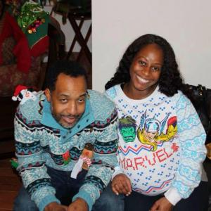 weusi and shelli ugly sweaters