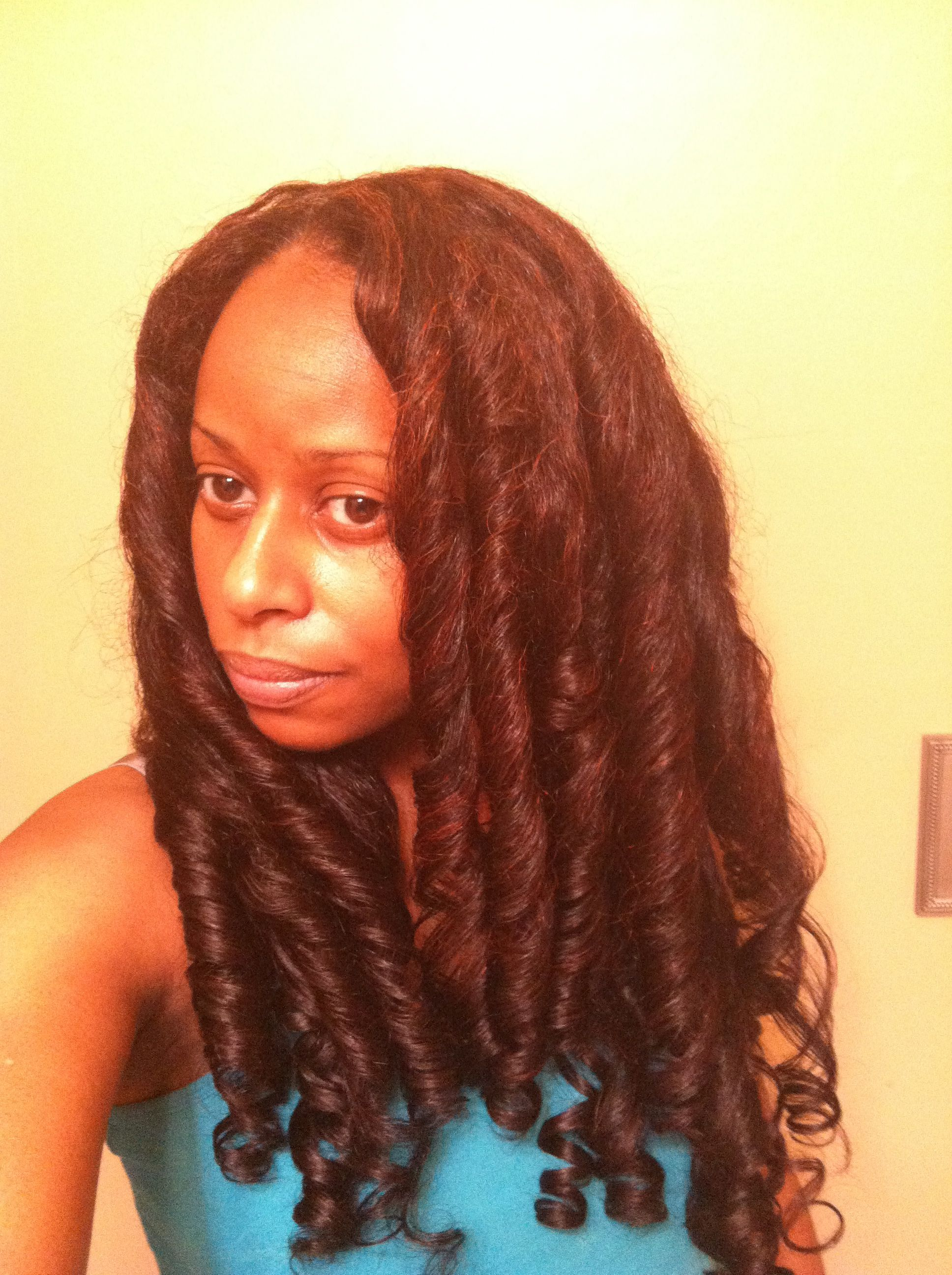 Straight perm damage - I Ve Become A Straight Hair Natural Without Heat Damage Hairscapades